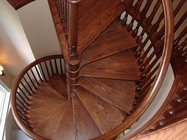 Spiral Stairs contemporary-staircase