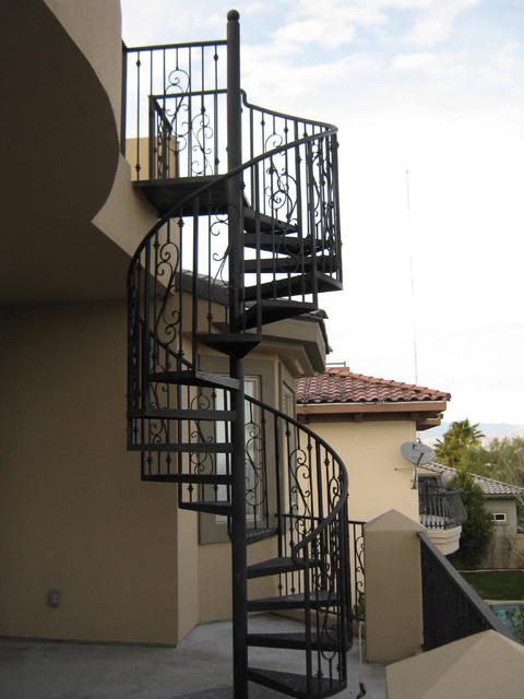 Spiral Stairways Mediterranean Staircase Las Vegas