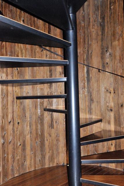 Spiral Stairways contemporary-staircase