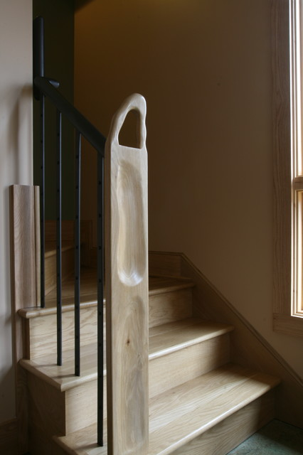 Springtime Cottage at 54 Swanger contemporary-staircase
