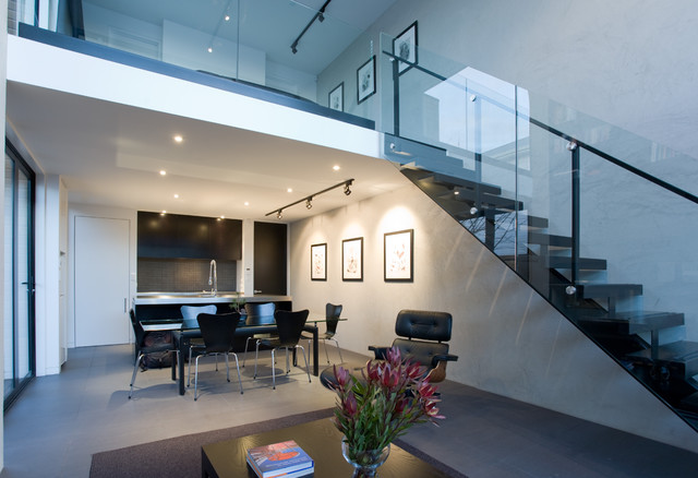 Apartment modern-staircase