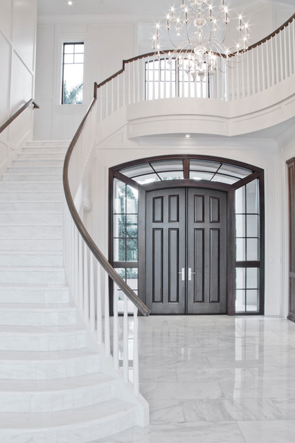 St. Andrews Country Club traditional-staircase