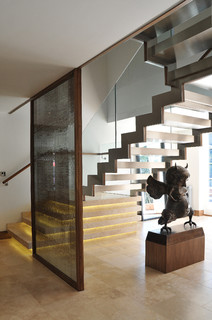 staircase by vancouver general contractors kerr and design
