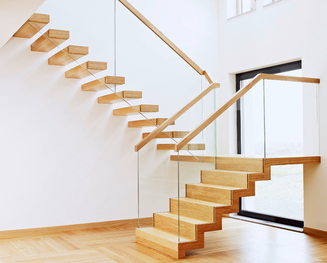 St910 Private Client Contemporary Staircase London