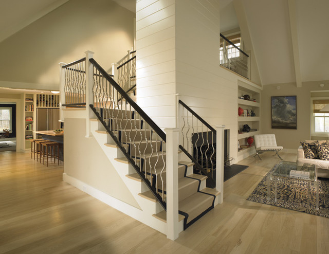 Beau Staircase   Modern Staircase Idea In Boston. Email Save. Woodmeister Master  Builders