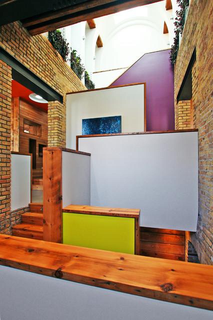 stair atrium contemporary-staircase