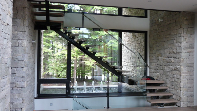 Stair Case Contemporary Staircase Vancouver By