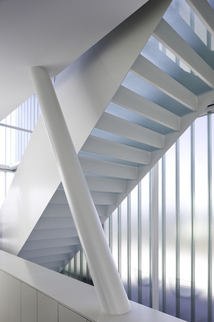 Stair : House on Penobscot Bay : EEArch.com modern staircase
