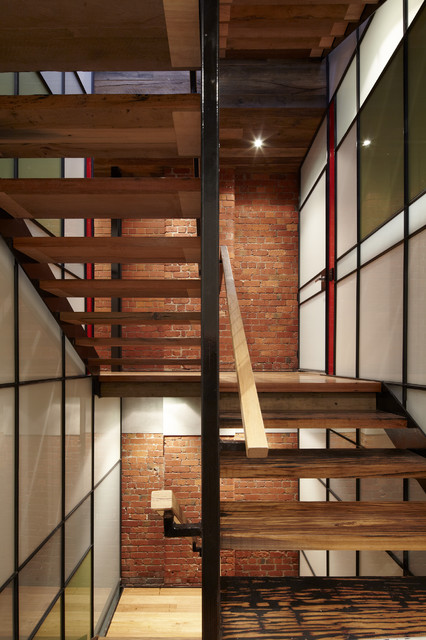 Stair Industrial Staircase Melbourne By K Architects