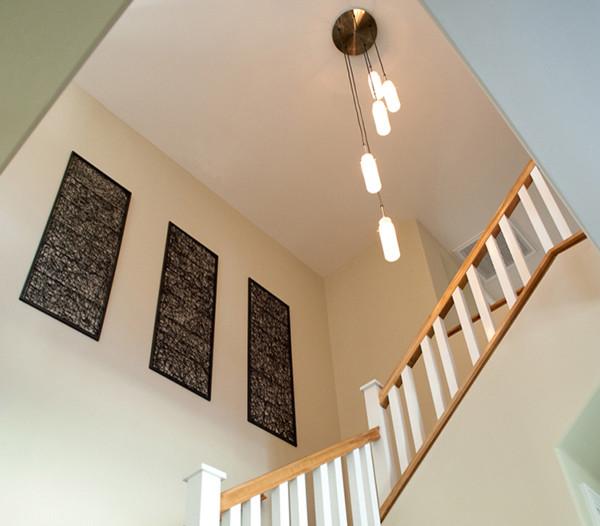stair + lighting craftsman-staircase & stair + lighting - Craftsman - Staircase - Los Angeles - by Moss Yaw ...