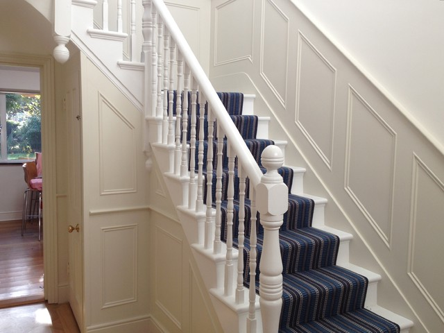 Stair Panelling Traditional Staircase London By