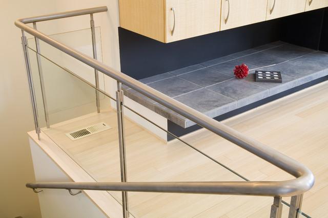 Stair Rail contemporary-staircase