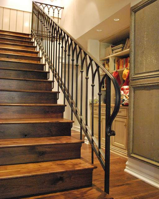 Gorgeous Wooden Handrail For Stairs Stair Railing Traditional Staircase Phoenix By