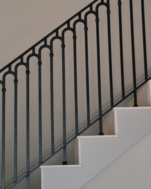 Stair Railing Contemporary Staircase Phoenix By Grizzly Iron Inc
