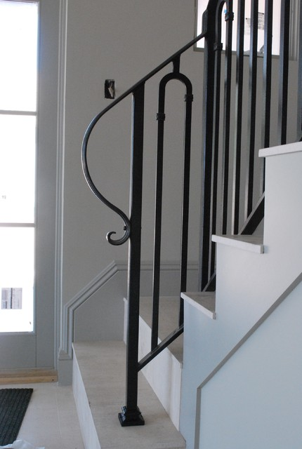 Stair Railing Contemporary Staircase