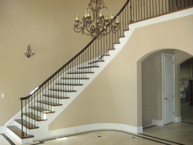 Indoor Handrails For Stairs Contemporary: Stair Railing