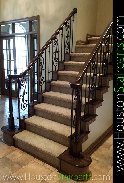 stair remodel houston stair parts traditional