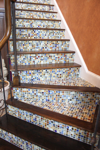 Stair Risers Traditional Staircase Other Metro By