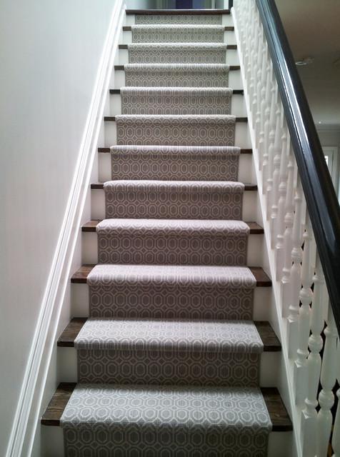 Stair runner installation - Refurbish stairs budget ...