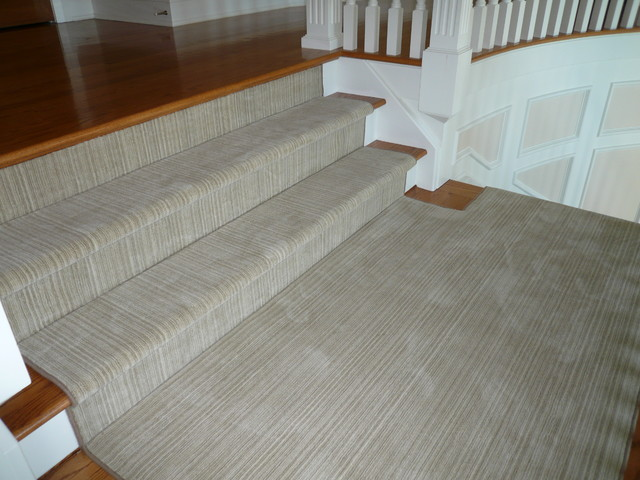 Stair Runners traditional staircase