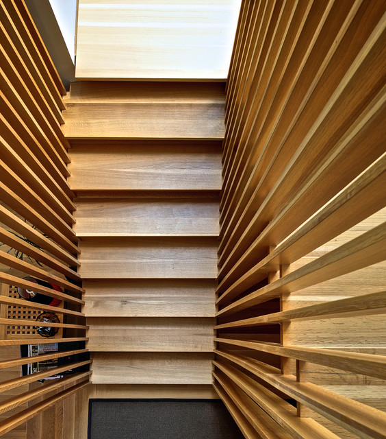 Stair Slats Modern Staircase Toronto By Andrew