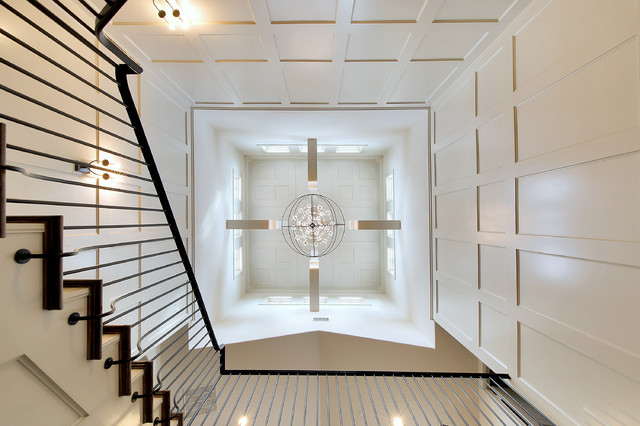 Mediterranean Staircase Tower : Stair tower and cupola mediterranean staircase
