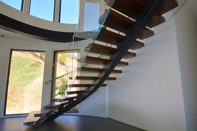 Stair Underside Modern Staircase