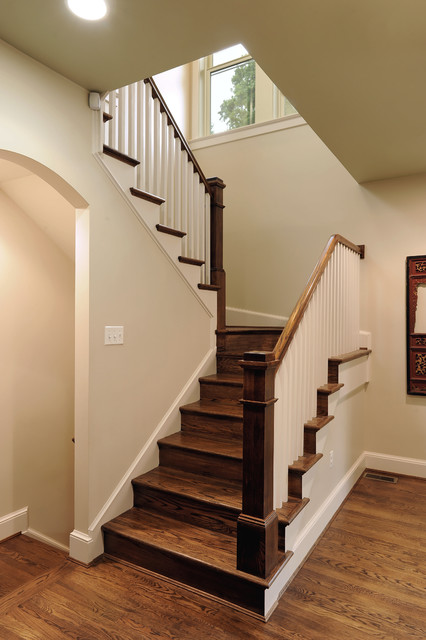 Stair View Contemporary Staircase DC Metro By