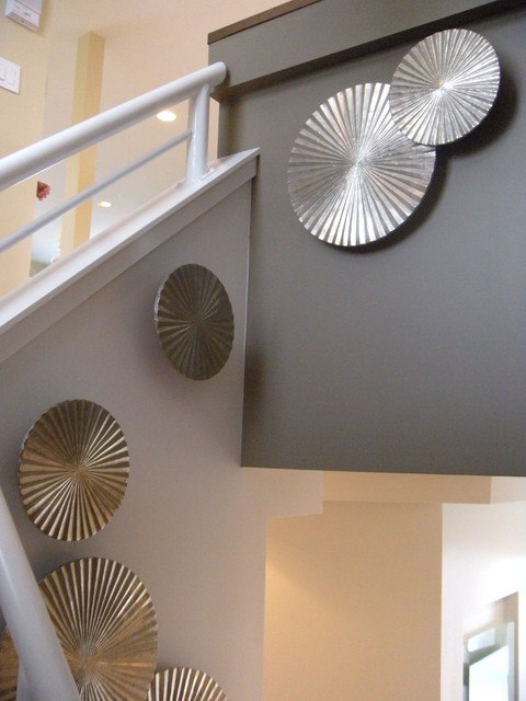 Contemporary Staircase Wall Decor : Staircase wall decor modern los angeles