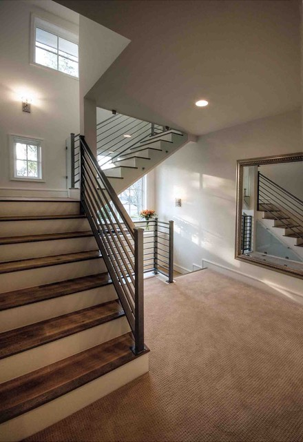Staircase contemporary-staircase