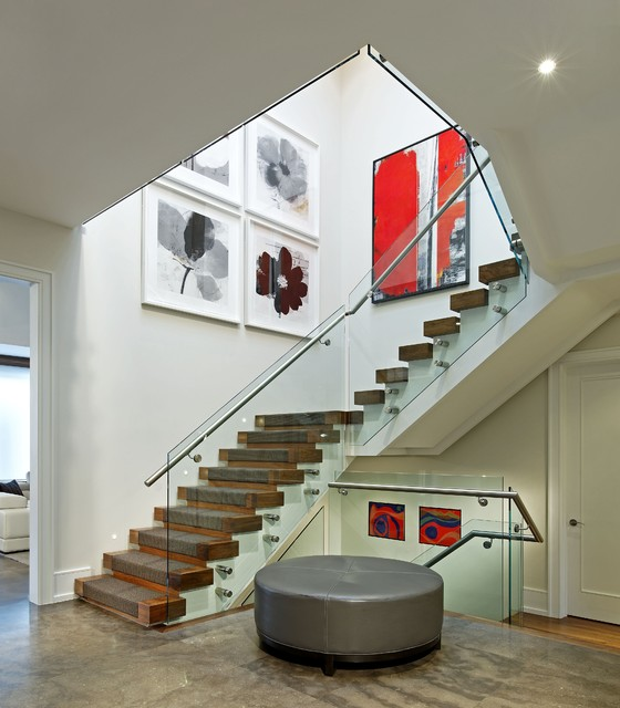 Staircase contemporary staircase
