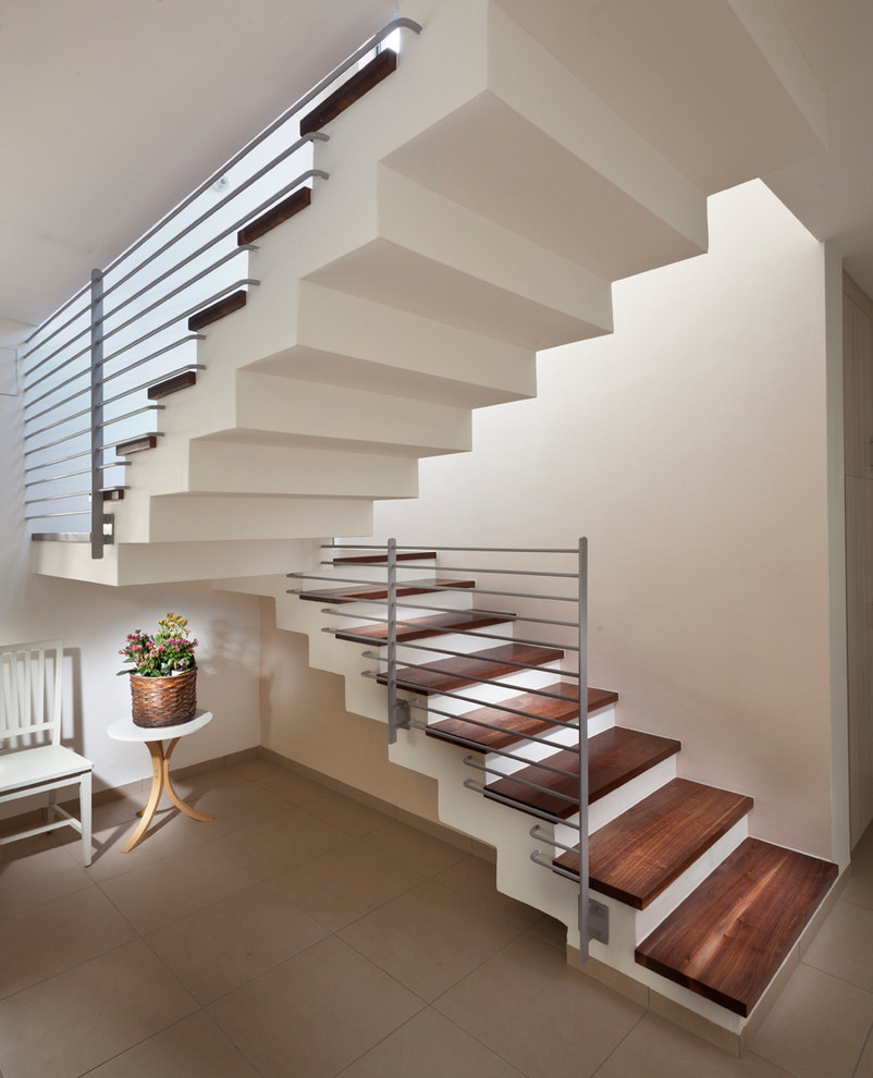 Staircase - modern floating staircase idea in Other