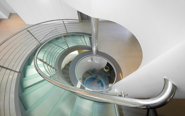 contemporary staircase by Elad Gonen & Zeev Beech