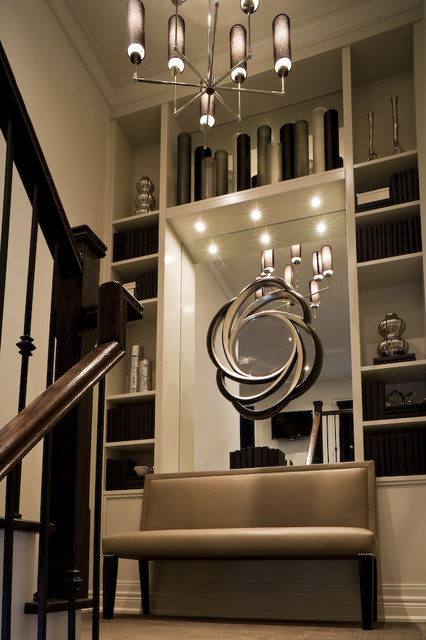 Staircase Landing Bookcase