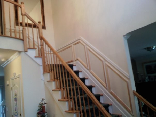 STAIRCASE MOLDING traditional-staircase