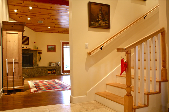 traditional staircase by Shannon Malone