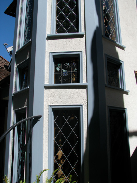 Glass Stair Towers : Staircase stair tower windows exterior view traditional