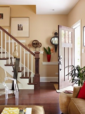 staircase wall decorating ideas - Traditional - Staircase - other metro - by Stairs Designs