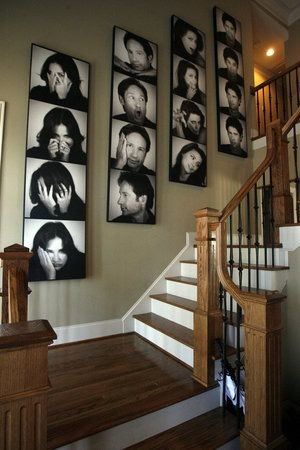 Incroyable Staircase Wall Decorating Ideas Traditional Staircase