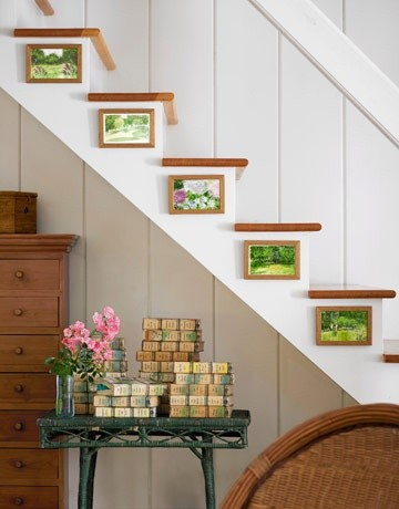 Stairway Wall Decorating Ideas staircase wall decorating ideas - modern - staircase - other -