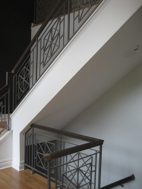 Staircases and Rails modern-staircase
