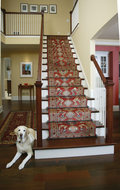 Staircases Featuring Runners And Zoroufy Stair Rods ...