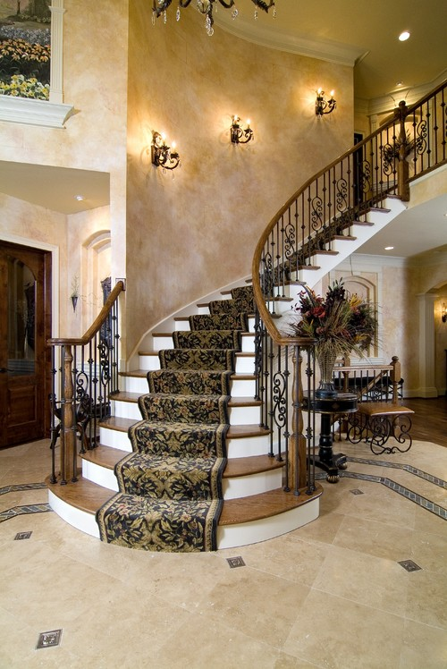 How difficult is it to put wood on the rounded stairs? Is it expensive?