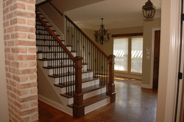 Stairs Amp Banisters Traditional Staircase Austin By