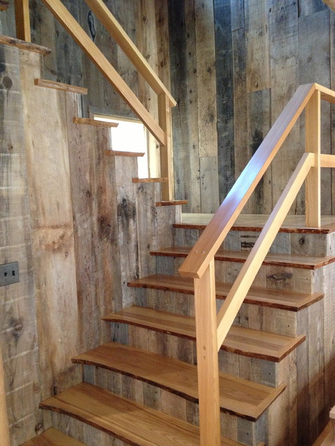 Genial Staircase   Eclectic Staircase Idea In Portland Maine