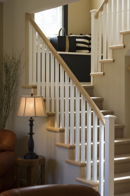 Stairs and railings traditional-staircase