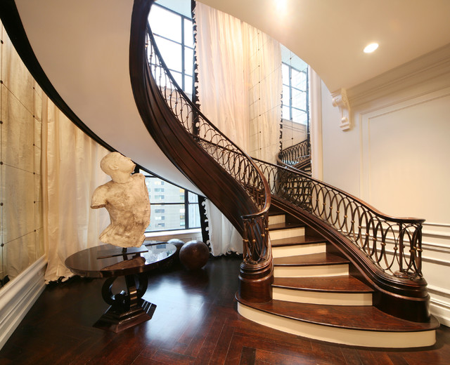 Stairs And Railings Nyc Traditional Staircase New