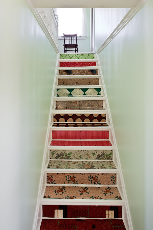 Stairs at the Thomas Mouland House