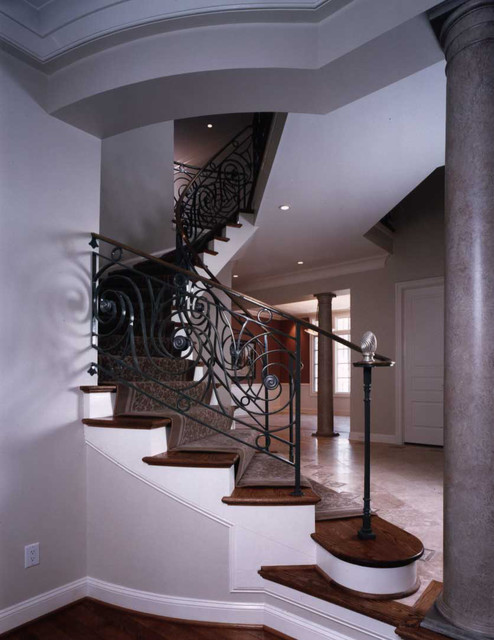 Foyer Stairs Uk : Stairs foyers and rails traditional staircase dc