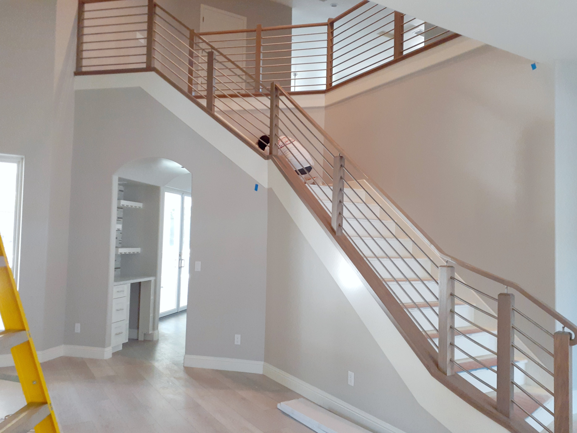 Stairs Leading from Kitchen/Living to Upstairs